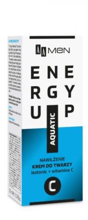 AA MEN Energy Up, krem do twarzy nawilżenie, 50 ml