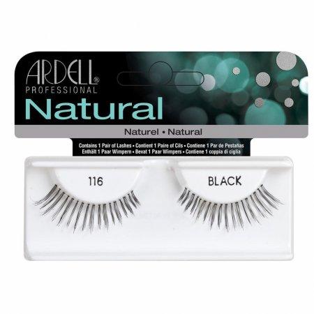 Ardell Natural Lashes 116 Black, sztuczne rzęsy