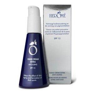 Herome Anti Aging Cream, krem do rąk przeciw oznakom starzenia, 120ml