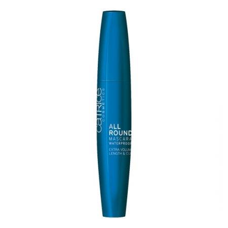 Catrice Allround Mascara Waterproof, wodoodporny tusz do rzęs, black, 12ml