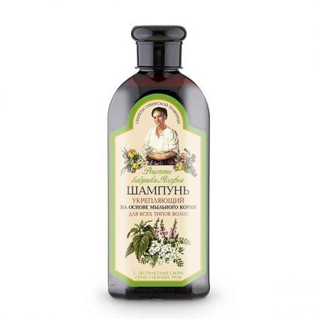 Babuszka Agafia, szampon prostujący do każdego rodzaju włosów, 350ml