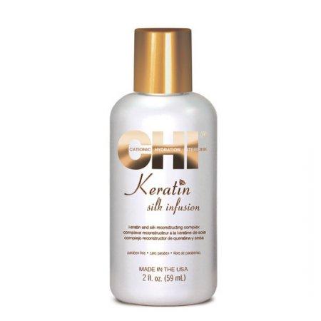 CHI Keratin, jedwab do włosów z keratyną, regeneracja, 59ml