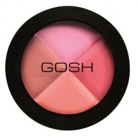 Gosh Multicolour Blush, mozaikowy róż na policzki, 8g