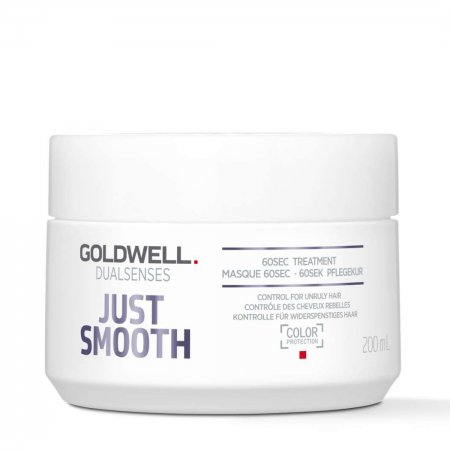 Goldwell Dualsenses Just Smooth, 60-sekundowa kuracja ujarzmiająca, 200ml