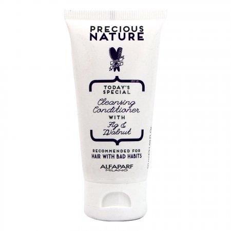 Alfaparf Precious Nature Mini, odżywka oczyszczająca do włosów osłabionych, 50ml
