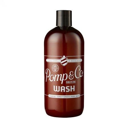 Pomp&Co. Wash, szampon i żel pod prysznic, 500ml