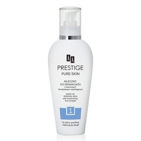 AA Prestige, nawilżające mleczko do demakijażu, 200ml
