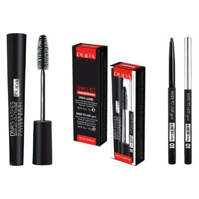 Pupa Divas Kit WP Special Edition, zestaw do makija�u oczu