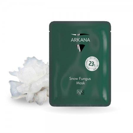 Arkana Cannabis Therapy, maska w płacie ze śnieżnego grzyba, ref. 53010