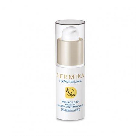 Dermika Expressima, krem przeciw zmarszczkom mimicznym pod oczy, 15ml
