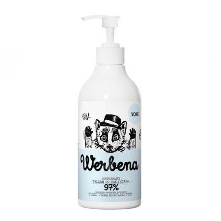 Yope, naturalny balsam do rąk, Werbena, 300ml