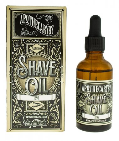 Apothecary87, Shave Oil, 1893, olejek do golenia, 50ml