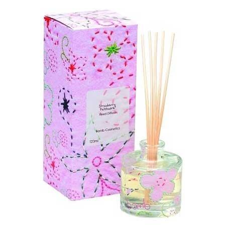 Bomb Cosmetics, dyfuzor zapachowy, Strawberry Patchwork, 100ml