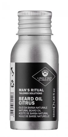 Dear Beard Man's Ritual, olejek do brody cytrusowy, 50ml