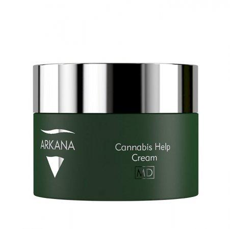 Arkana Cannabis Therapy, kanabisowy krem dla skóry dysfunkcyjnej, 50ml, ref. 53007