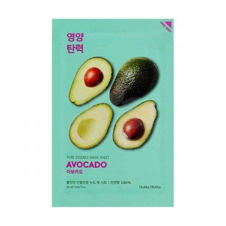 Holika Holika Pure Essence - Avocado, maseczka na płachcie