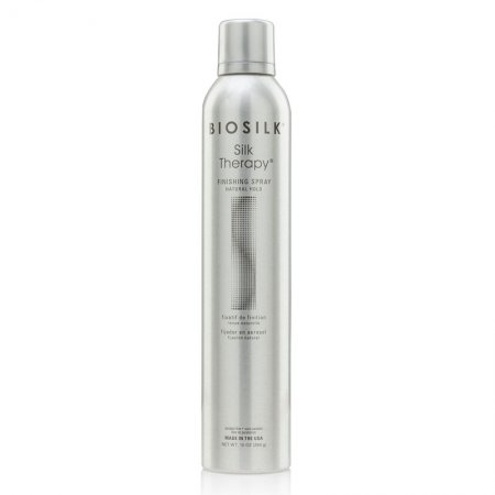 Biosilk Silk Therapy Finishing Spray Natural, lakier do włosów z jedwabiem, 284g