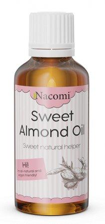 Nacomi, olej ze słodkich migdałów, 50ml