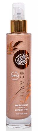 BodyBoom, rozświetlacz do ciała Shimmer Gold, 100ml