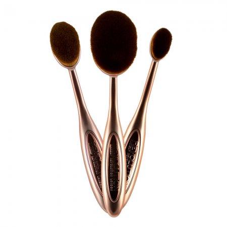 Makeup Revolution Precision Contour Set, zestaw szczotek do makijażu