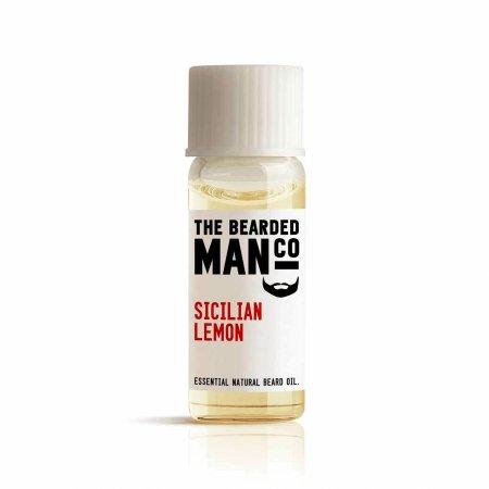 Bearded Man Sicilian Lemon, olejek do brody Sycylijska Cytryna, 2ml