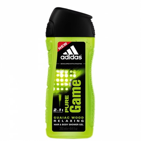 Adidas Pure Game, żel pod prysznic, 250ml (M)