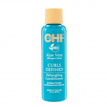 CHI Aloe Vera, odżywka wzmacniająca do włosów kręconych, 30ml