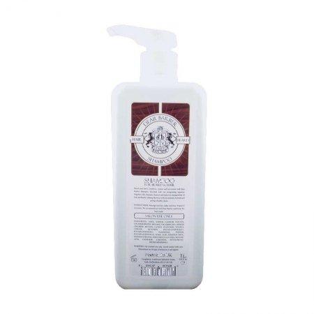 Dear Barber, szampon poprawiający kondycję włosów i brody, 1000ml