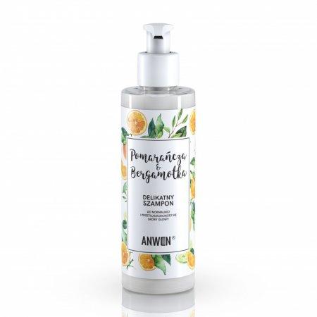 Anwen, szampon Pomarańcza i Bergamotka do normalnej i przetłuszczającej się skóry głowy, 200ml