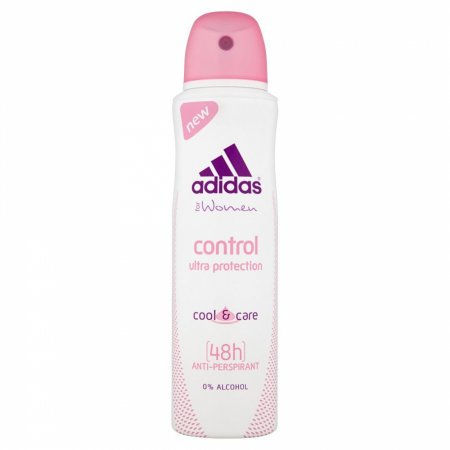 Adidas Control, antiperspirant, ultra protection, 150ml (W)