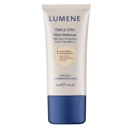 Lumene Triple Stay Matt Makeup, d�ugotrwa�y podk�ad matuj�cy, 30ml