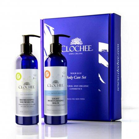 Clochee Body Care Set, zestaw do pielęgnacji ciała