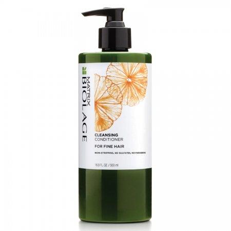 Biolage Cleansing Conditioner, odżywka myjąca do włosów cienkich, 500ml