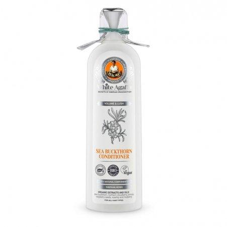 Babuszka Agafia White Agafia, organiczna rokitnikowa odżywka, objętość i gęstość, 280ml