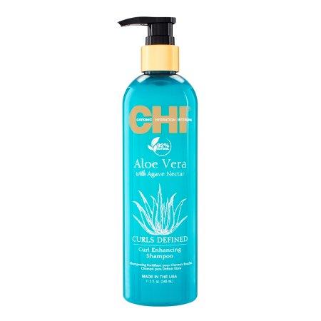 CHI Aloe Vera, szampon wzmacniający loki, 340ml