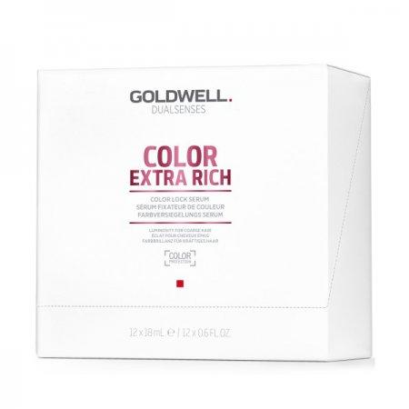 Goldwell Dualsenses Color Extra Rich, serum przypieczętowujące kolor, 12x18ml