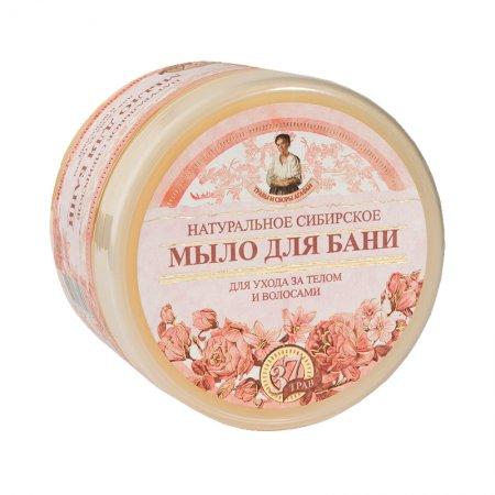 Babuszka Agafia, ziołowe mydło kwiatowe, 500ml