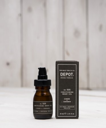 Depot No. 505, olejek odżywczy do brody, imbir&kardamon, 30ml