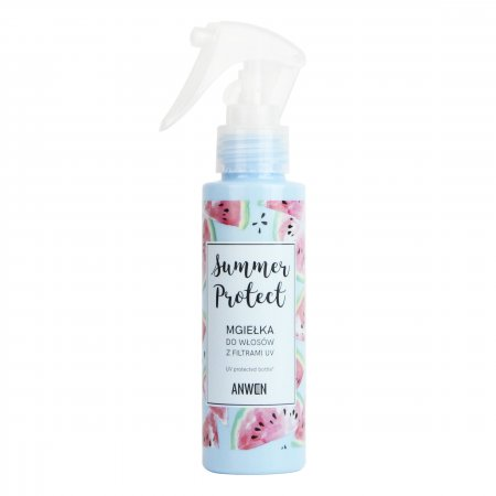 Anwen, Summer Protect, mgiełka do włosów z filtrami UV, 100ml