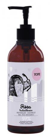 Yope, żel pod prysznic, Róża i Kadzidłowiec, 400ml