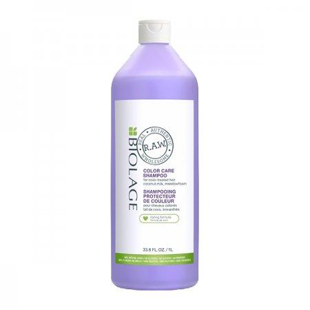 Biolage RAW Color Care, szampon do włosów farbowanych, 1000ml