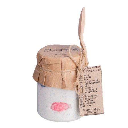 Dushka, peeling-suflet Bubble Gum, 250ml