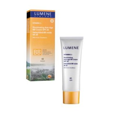 Lumene Vitamin C+, odm�adzaj�co-roz�wietlaj�cy krem do twarzy typu BB, 50ml
