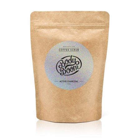 BodyBoom, peeling kawowy Magiczny Węgiel, 200g