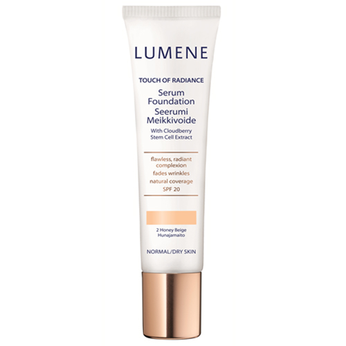 Lumene Touch of Radiance Serum Foundation, uj�drniaj�cy podk�ad z odm�adzaj�cym serum, 30ml
